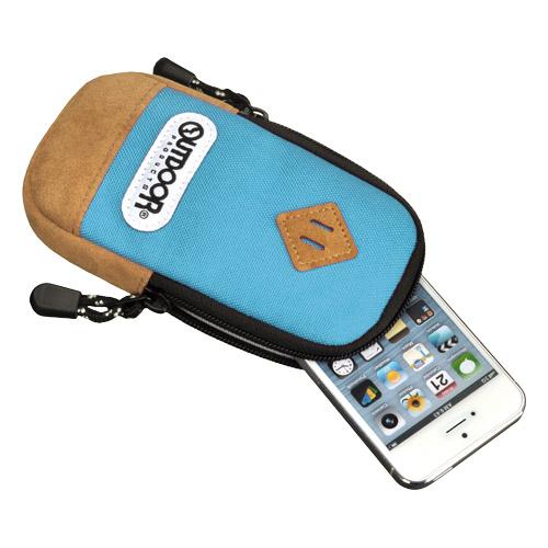 iPhone SE/5s/5 ケース アウトドア スマートフォンポーチ02 スカイブルー iPhone 4/4s/SE/5/5s/5c_0