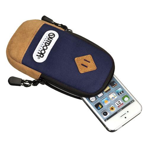 【iPhone SE/5s/5ケース】アウトドア スマートフォンポーチ02 ネイビー iPhone 4/4s/SE/5/5s/5c_0