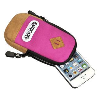 【iPhone SE/その他の/iPodケース】アウトドア スマートフォンポーチ02 ピンク iPhone 4/4s/SE/5/5s/5c