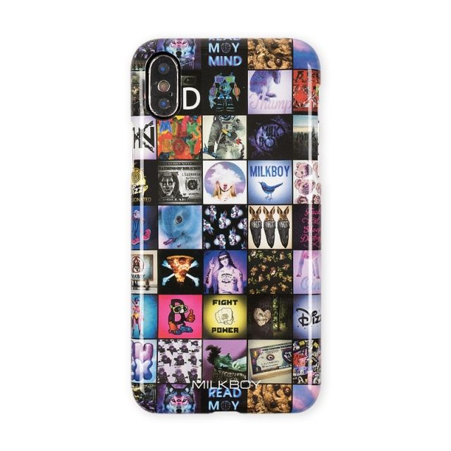 iPhone XS/X ケース MILKBOY ミルクボーイ ハードケース Gizmobies INSTAGRAM PATTERN iPhone XS/X_0