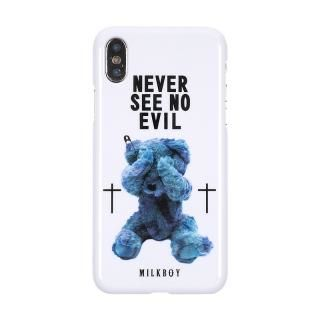 MILKBOY ミルクボーイ ハードケース Gizmobies SEE NO EVILBEARS WH iPhone XS/X