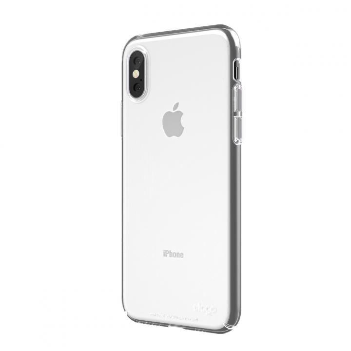【iPhone XS Maxケース】elago SLIM FIT 2018 薄型軽量ケース Crystal Clear iPhone XS Max_0