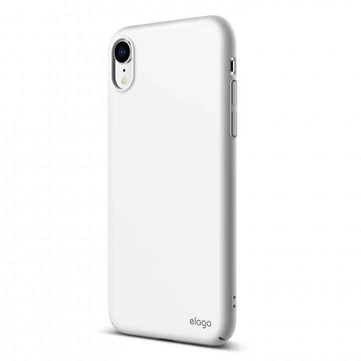 iPhone XR ケース elago SLIM FIT 2018 薄型軽量ケース White iPhone XR_0