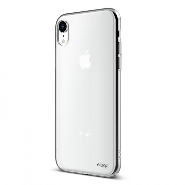 【iPhone XRケース】elago SLIM FIT 2018 薄型軽量ケース Crystal Clear iPhone XR_0
