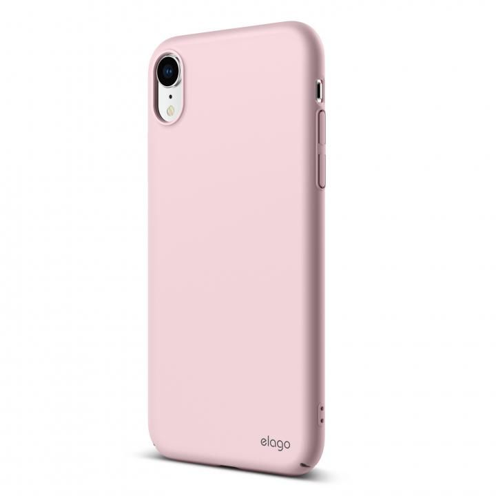 iPhone XR ケース elago SLIM FIT 2018 薄型軽量ケース Lovely Pink iPhone XR_0
