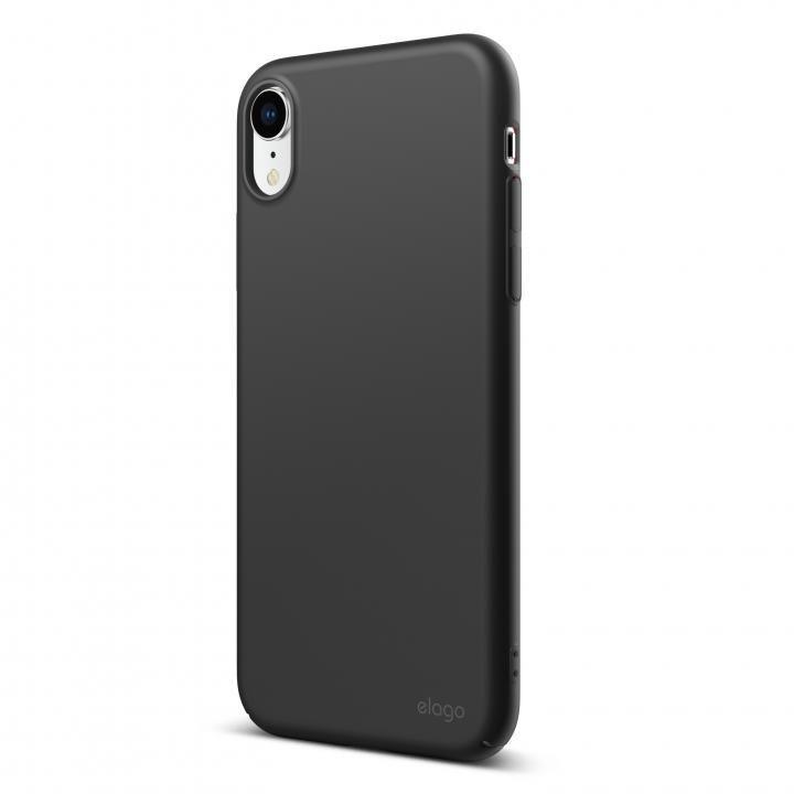 iPhone XR ケース elago SLIM FIT 2018 薄型軽量ケース Black iPhone XR_0