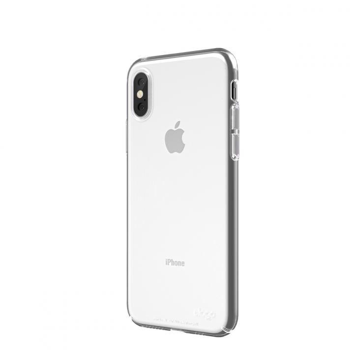 【iPhone XSケース】elago SLIM FIT 2018 薄型軽量ケース Crystal Clear iPhone XS_0