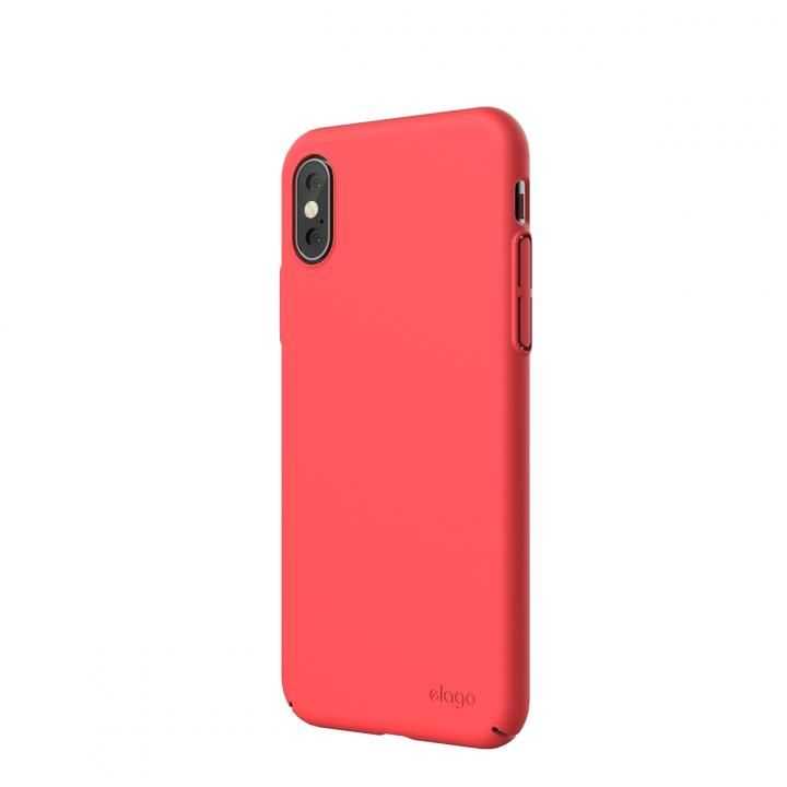iPhone XS/X ケース elago SLIM FIT 2018 薄型軽量ケース Italian Rose iPhone XS/X_0