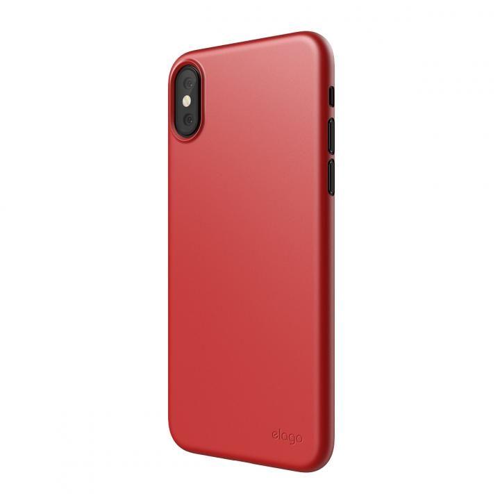 iPhone XS Max ケース elago INNER CORE 2018超薄型ケース Red iPhone XS Max_0