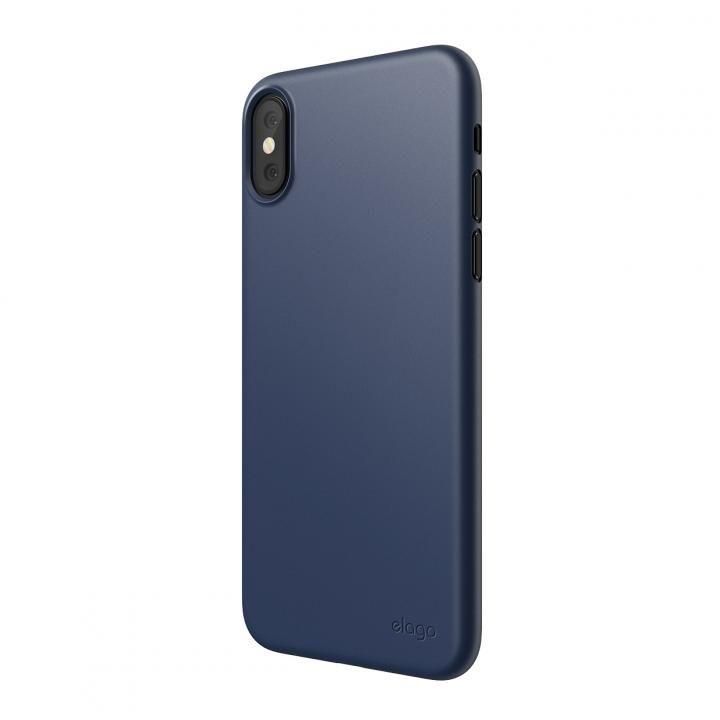 【iPhone XS Maxケース】elago INNER CORE 2018超薄型ケース Jean Indigo iPhone XS Max_0