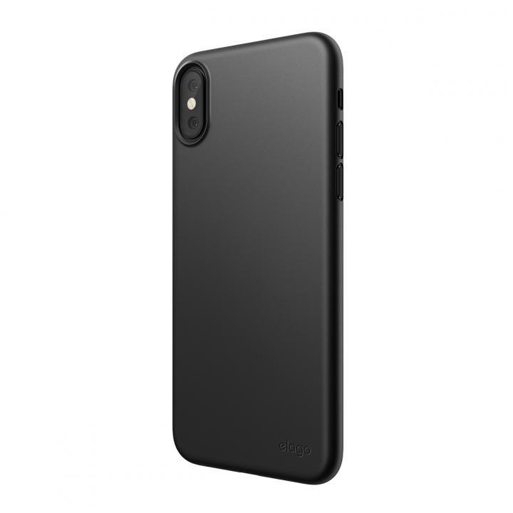 iPhone XS Max ケース elago INNER CORE 2018超薄型ケース Black iPhone XS Max_0
