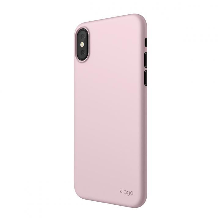 iPhone XS Max ケース elago INNER CORE 2018超薄型ケース Lovely Pink iPhone XS Max_0