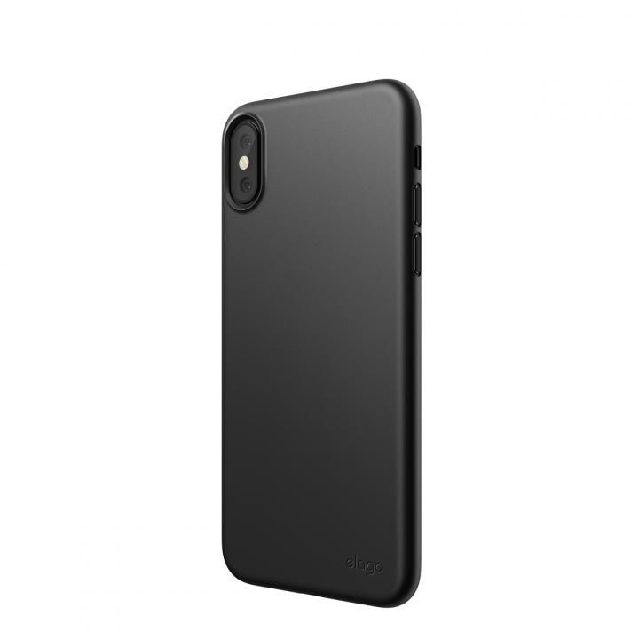 【iPhone XSケース】elago INNER CORE 2018 超薄型ケース Black iPhone XS_0