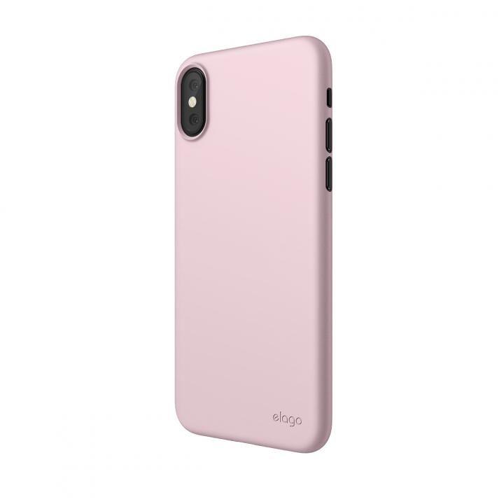 【iPhone XSケース】elago INNER CORE 2018 超薄型ケース Lovely Pink iPhone XS_0