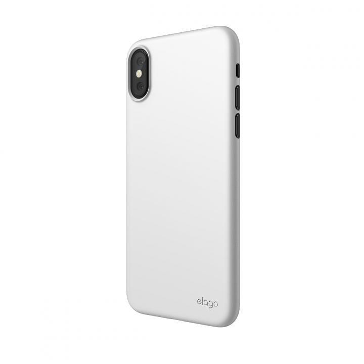 iPhone XS ケース elago INNER CORE 2018 超薄型ケース White iPhone XS_0