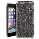 ラインストーンハードケース ELLISIA ブラック iPhone 6s/6