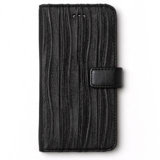 プリーツ加工手帳型ケース Pleats Diary ブラック iPhone 6s/6