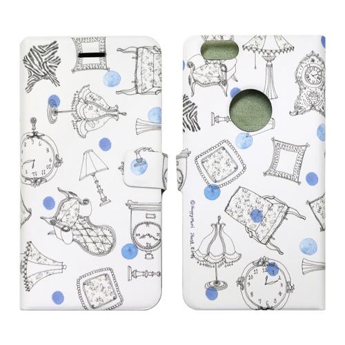 【iPhone6sケース】手帳型ケース フレンチカフェ アンティーク iPhone 6s/6_0