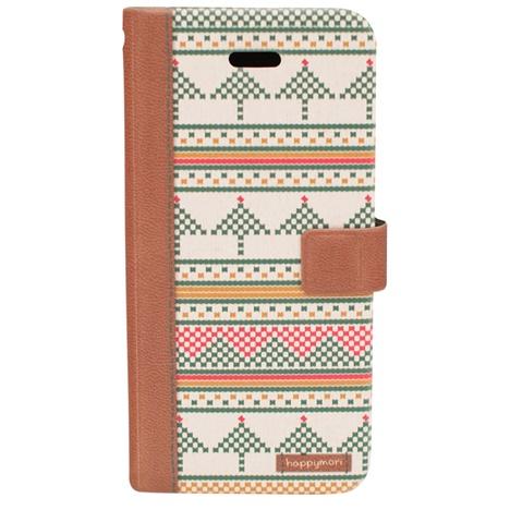 iPhone6s ケース スカンジナビアセーター 手帳型ケース ブラウン iPhone 6s/6_0