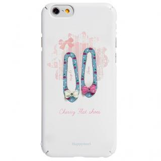 ハードケース チェリーフラットシューズ ピンク iPhone 6s/6