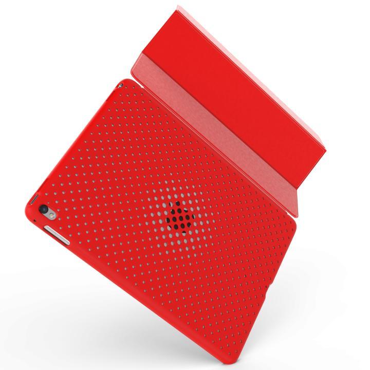 AndMesh メッシュケース レッド 背面ケース iPad Pro 9.7インチ_0