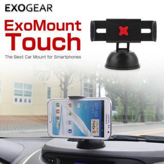 吸盤で車に簡単設置できるスマホフォルダー Exo Mount Touch_7
