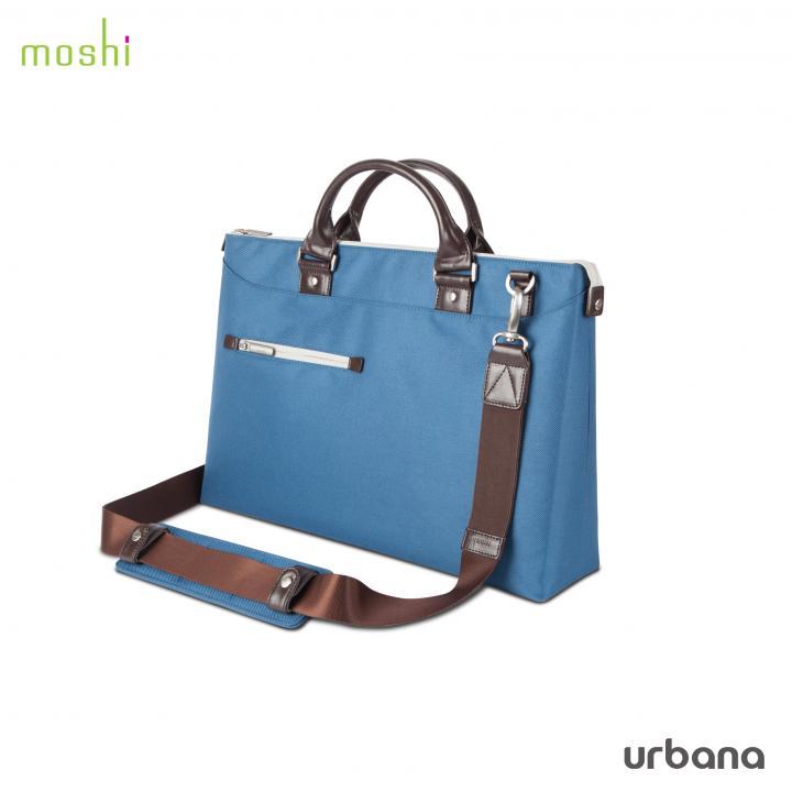 デザイナーキャリーケース moshi Urbana セルリアン ブルー_0