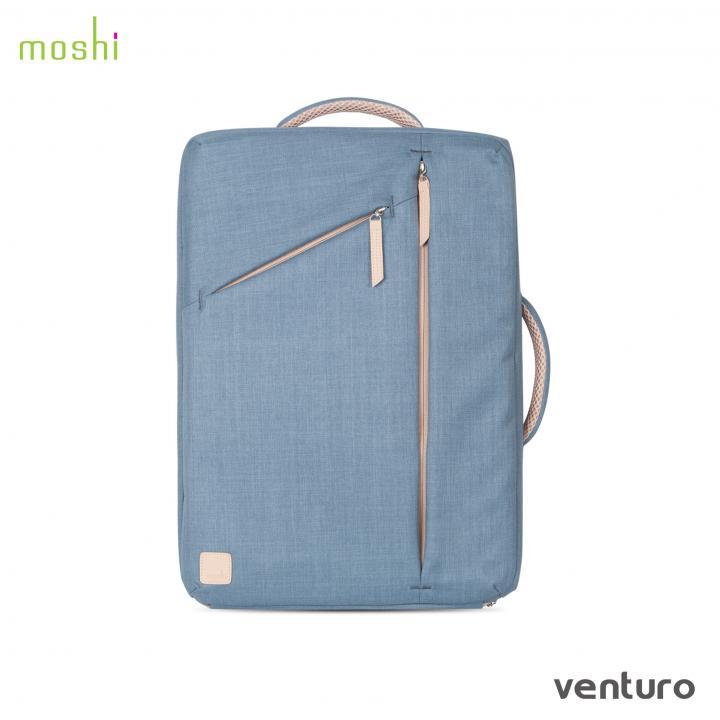 デザイナーキャリーケース moshi Venturo スティール ブルー_0