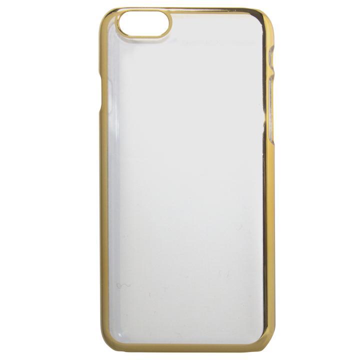 【iPhone7 Plusケース】gufo メタル調PCケース ゴールド iPhone 7 Plus_0