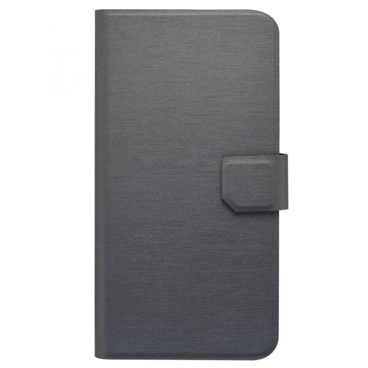 スリムヘアライン PU手帳型ケース  iPhone 7 Plus