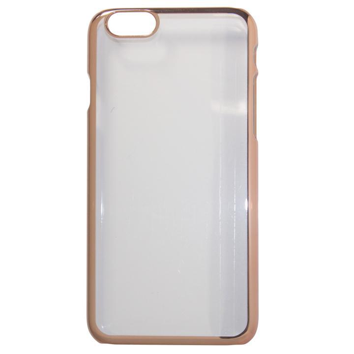 [2018新生活応援特価]gufo メタル調PCケース ローズゴールド iPhone 7 Plus
