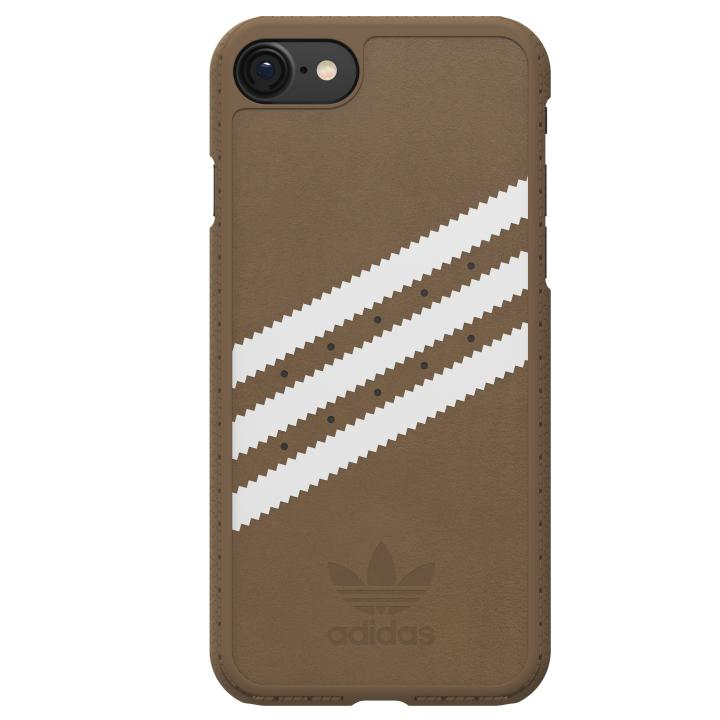 adidas Originals オリジナル スエードケース Khaki/White iPhone 7
