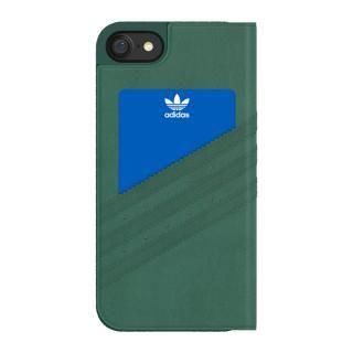 【iPhone7ケース】adidas Originals オリジナル スエード手帳型ケース Mineral GR/WT iPhone 7_2