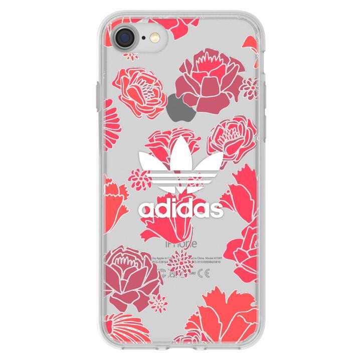 [2017夏フェス特価]adidas Originals クリアケース Bohemian Red iPhone 7