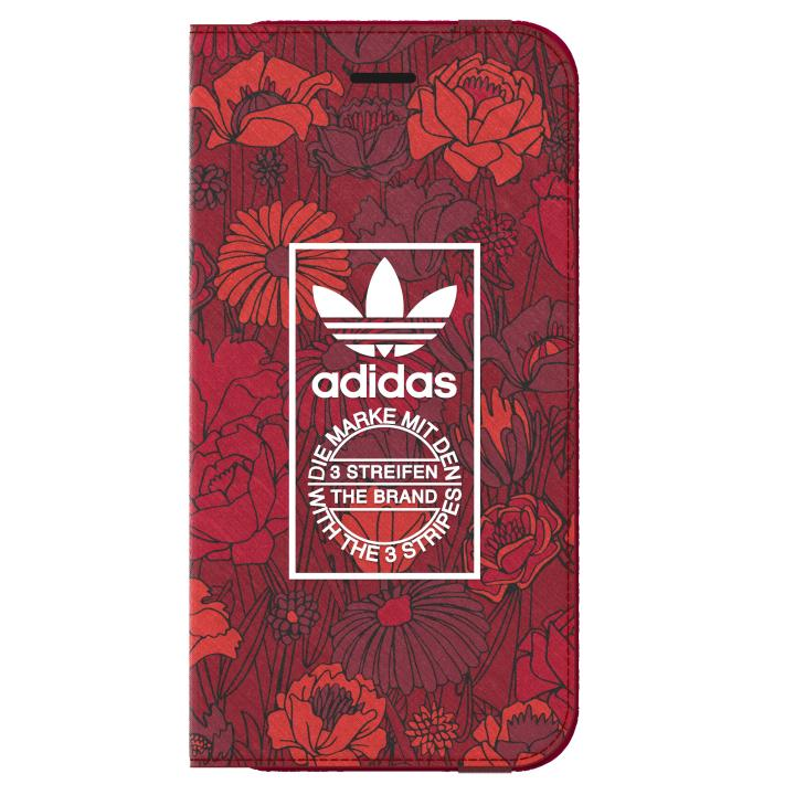 adidas Originals 手帳型ケース Bohemian Red iPhone 7
