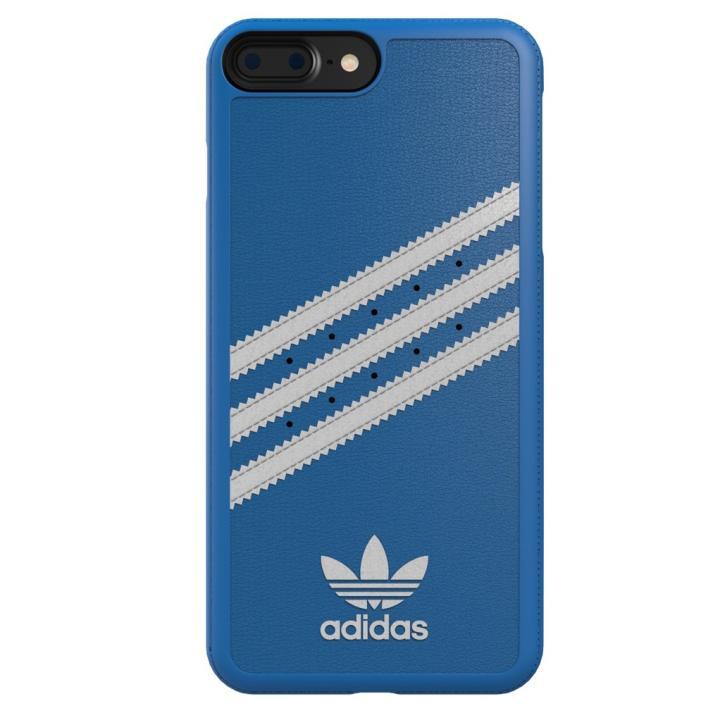 adidas Originals ケース ブルー/ホワイト iPhone 7 Plus