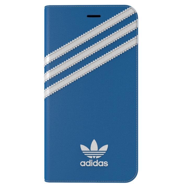 【iPhone7 Plusケース】adidas Originals 手帳型ケース ブルー/ホワイト iPhone 7 Plus_0