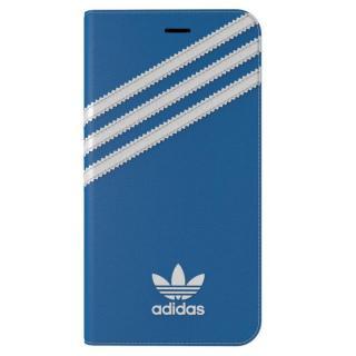 adidas Originals 手帳型ケース ブルー/ホワイト iPhone 7 Plus