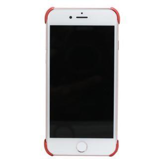【iPhone8/7/6s/6ケース】CRYSTAL ARMOR  X Ring アルミバンパー レッド×ブラック iPhone 8/7/6s/6_1