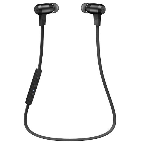NuForce BE 6i Bluetoothワイヤレスイヤホン APBELI-BK ブラック_0