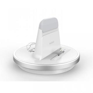 【9月中旬】肉厚ケースカバー対応充電スタンド for iPhone/iPad ホワイト