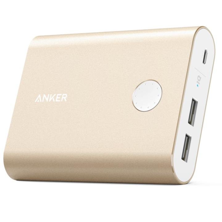 [13400mAh]Anker PowerCore+ 13400 モバイルバッテリー ゴールド_0