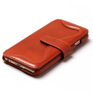 【iPhone6sケース】ウエスタンデザイン 手帳型レザーケース Western ブラウン iPhone 6s/6_2