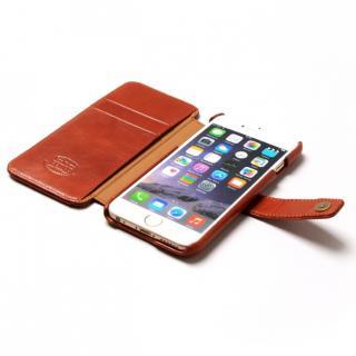 【iPhone6sケース】ウエスタンデザイン 手帳型レザーケース Western ブラウン iPhone 6s/6_4