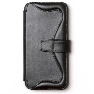 ウエスタンデザイン 手帳型レザーケース Western ブラック iPhone 6s/6