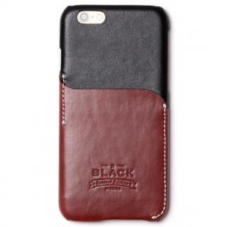 ブラックシリーズ Combi Bar レザーケース ブラック iPhone 6s/6