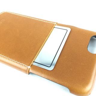 牛革 ポケット付きケース 15FW Pocket ブラウン iPhone 6s/6