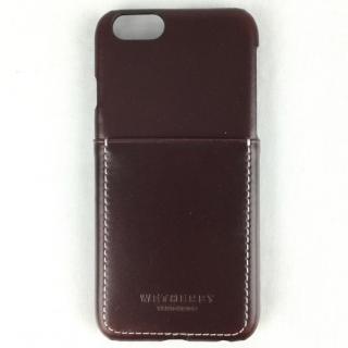 牛革 ポケット付きケース 15FW Pocket ダークブラウン iPhone 6s/6