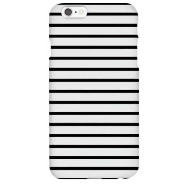 iPhone6s ケース ハイブリッドデザインケース TOUGT CASE シンプル ストライプ iPhone 6s/6_0