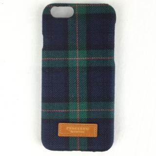 iPhone6s ケース コットンケース 15FW Bartype チェックグリーン iPhone 6s/6